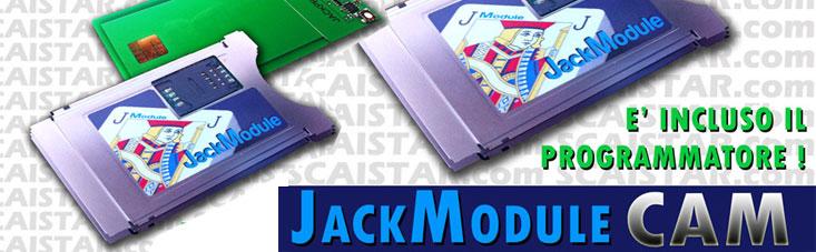 Jack Module CAM HD CI+ Sat e Dtt + programmatore